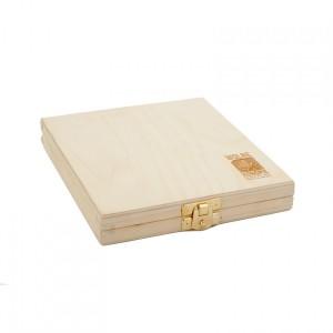 Pudełko-Tacka drewniana Wolne Konopie