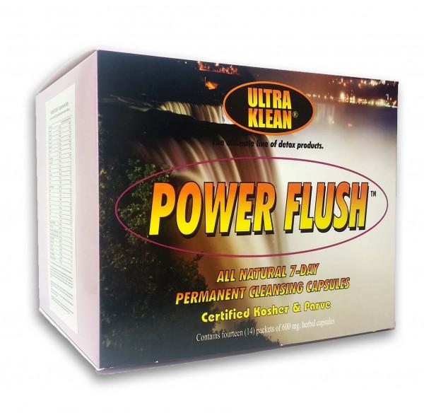 Power Flush Permanent - 7-dniowa kuracja kompleksowego oczyszczenia organizmu z substancji