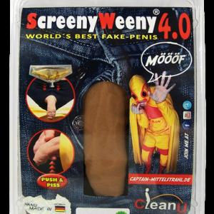 Sztuczny penis Screeny Weeny 5.0 + akcesoria