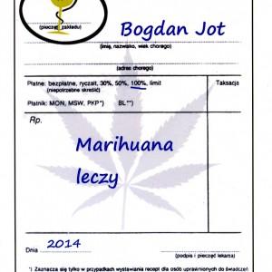 Książka Marihuana Leczy