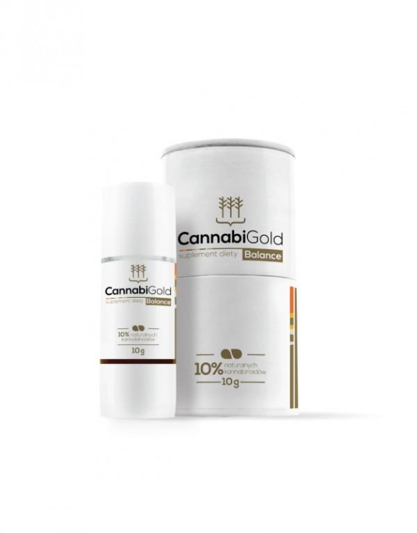 Olejek CBD Cannabigold Balance 10% (5% CBDA + 5% CBD) 10g