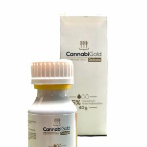 Olej CannabiGold Delicate 2,5% 40g