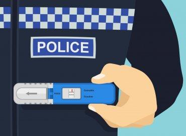 drug test policja test narkotykowy antynarkotykowy kierowcy jazda samochodem pod wplywem